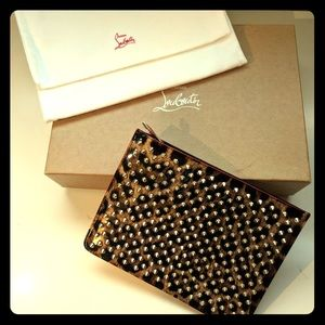 Christian Louboutin- Baby pouch clutch